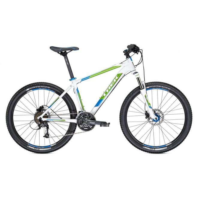 Велосипед Trek (2014) 4300 Trek White/Signature Green/Placid Blue, интернет-магазин Sportcoast.ru