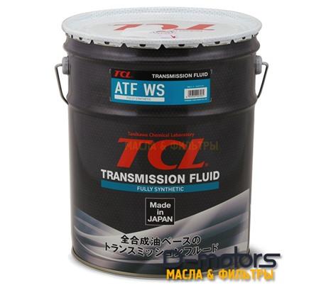 Трансмиссионное масло для автоматических коробок передач TCL ATF WS (20л)