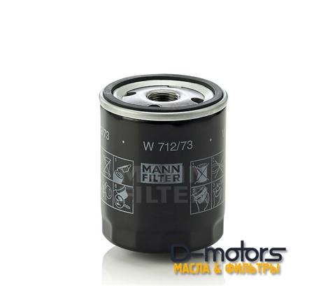 Фильтр Масляный Mann W712/73