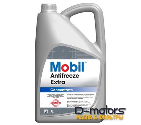 Охлаждающая жидкость Mobil Antifreeze Extra Концентрат (5л.)