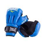 Перчатки для рукопашного боя HSIF RF3206, 6oz, к/з, синий