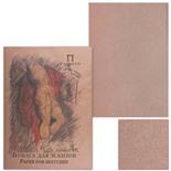 Бумага для эскизов А3 Palazzo 20 листов, 200 г/м2, крафт бумага БЭП3/20