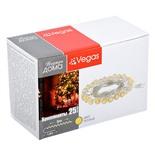 Светодиодная гирлянда для дома (теплый свет) Vegas Бриллианты 25 LED, 5 м, 220V 55083