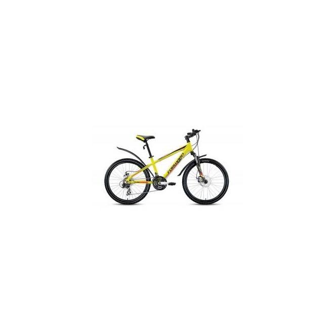 Велосипед Forward Twister 2.0 Disc 24 (2017) Желтый Матовый, интернет-магазин Sportcoast.ru