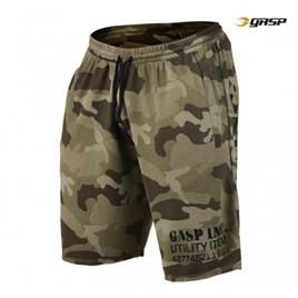 Спортивные шорты GASP Thermal Shorts, Green Camoprint