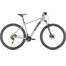 Велосипед CUBE ATTENTION 29 (grey'n'green) 2019, интернет-магазин Sportcoast.ru
