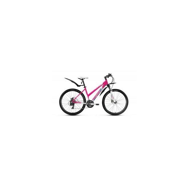 Велосипед Forward Jade 3.0 Disc 26 (2017) Белый/Розовый Матовый, интернет-магазин Sportcoast.ru