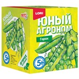 Набор для выращивания растений Lori Юный Агроном Горох Р-009