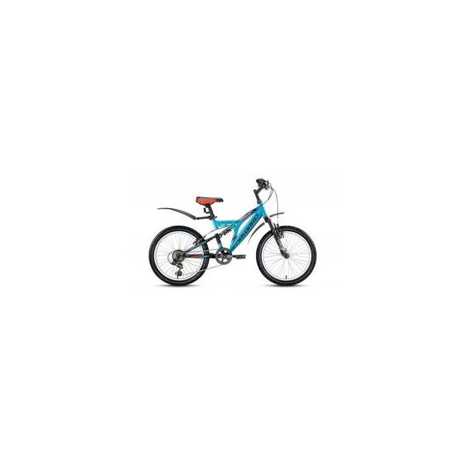 Велосипед Forward Volcano 1.0 20 (2016) Голубой/Черный Матовый, интернет-магазин Sportcoast.ru