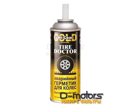 Аварийный герметик быстрого действия для ремонта колес HI-GEAR  tire doctor (340г)