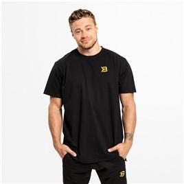 Футболка Stanton Oversize Tee, черный/желтый