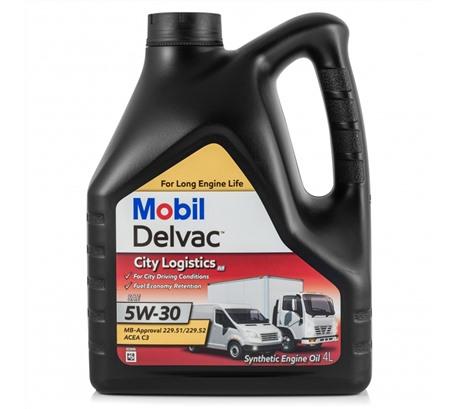 Mobil Delvac City Logistics M 5W-30, 4л