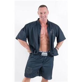 Ne HardCore Button Shirt цв.чёрный