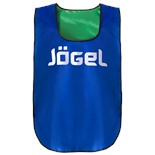 Манишка двухсторонняя JBIB-2001, взрослая, синий/зеленый