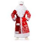 "Новогодний костюм ""Дед Мороз"" Расписной"